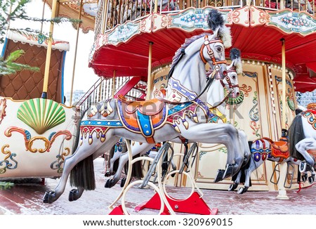 Carousel horse stock images royalty free images vectors for Merry go round horse template