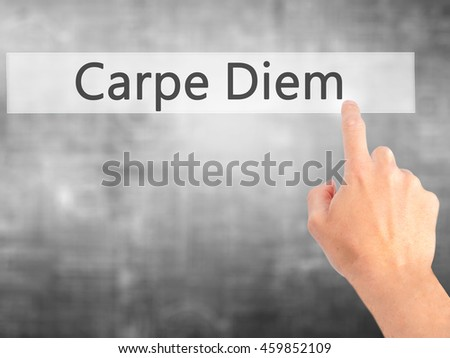 carpe diem 2 essay Female virginity and male desire in seventeenth century carpe diem poetry - robert herrick's to the virgins, to make much of time and andrew marvell's to his coy mistress - romina müller - essay - english - grammar, style, working technique - publish your bachelor's or master's thesis, dissertation, term paper or essay.