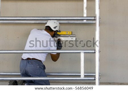 carpenter - stock photo
