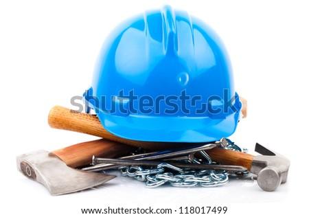carpenter tools - stock photo