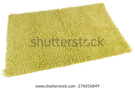Carpet or doormat on background. - stock photo