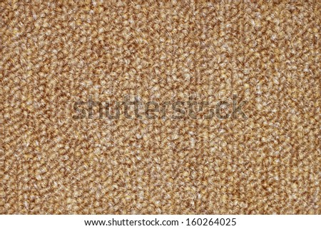carpet texture, close-up for background - stock photo