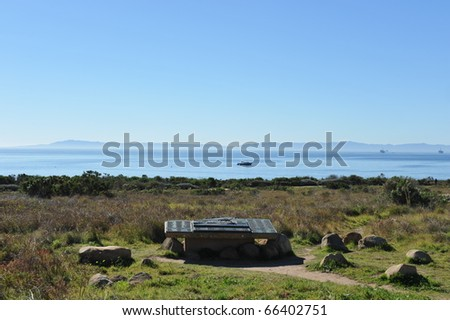 Carpinteria Bluffs - stock photo