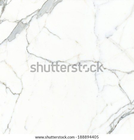 Carrara marble. Marble texture. White stone background. Bianco Venatino Marble - stock photo