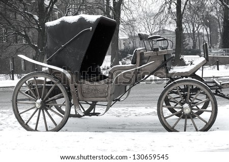 carriage  - stock photo