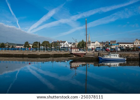 Carrickfergus, Belfast, Northern Ireland - stock photo