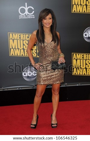 Carrie Ann Inaba  at the 2008 American Musica Awards. Nokia Theatre, Los Angeles, CA. 11-23-08