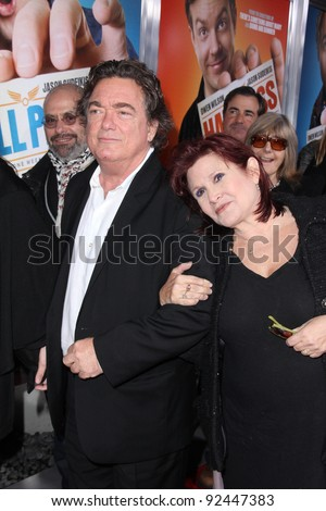 "Carrie Fisher at the ""Hall Pass"" Los Angeles Premiere, Cinerama Dome, Hollywood, CA. 02-23-11"