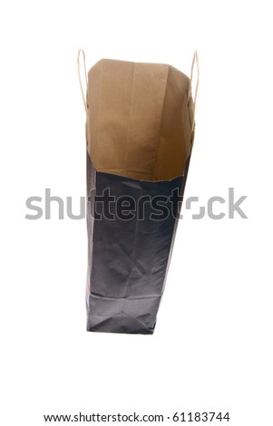 carrier bag - stock photo