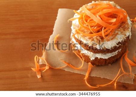 Carrot Cake - stock photo