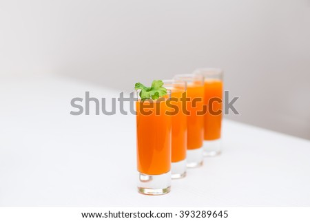 carrot juice in a glass, body cleansing