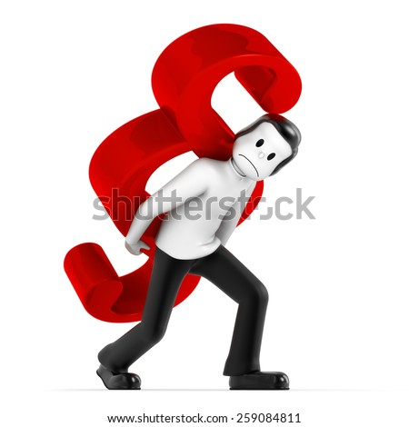 carry paragraph - stock photo