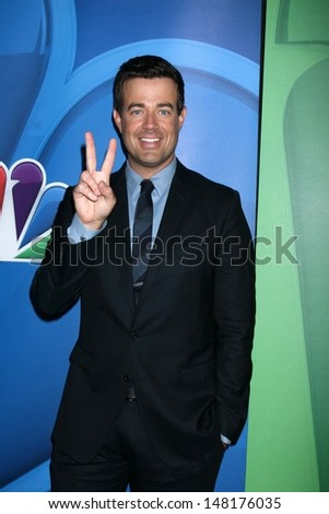 Carson Daly at the NBC Press Tour, Beverly Hilton, Beverly Hills, CA 07-27-13