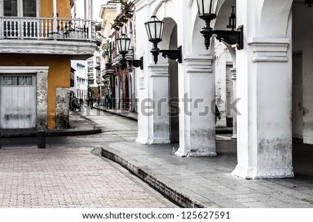 Cartagena de Indias, Colombia - stock photo