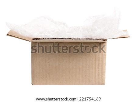 Carton box - stock photo
