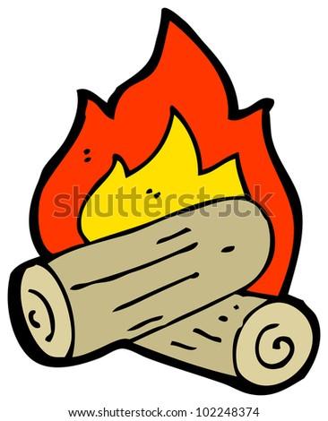 cartoon campfire stock illustration 102248374 shutterstock rh shutterstock com campfire cartoon drawing campfire cartoon images