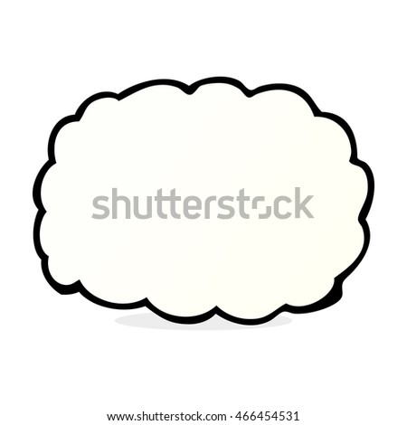 cartoon cloud symbol