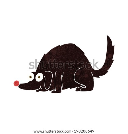 Simplified colored image silhouette field mouse stock for Field mouse cartoon