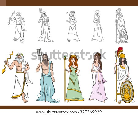gods and goddesses of greek mythology essay The greek and roman mythologies were characterized by a belief in multiple gods and goddesses who were the rulers of different aspects of life, such as the sky, the seas, war and love.