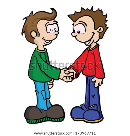 children handshake clipart - photo #36