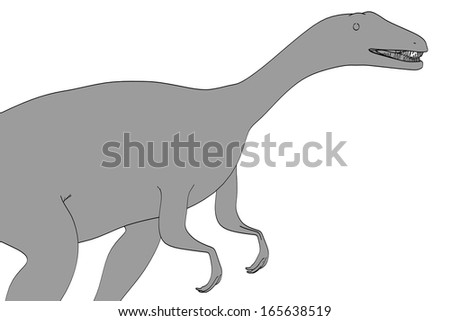 eoraptor coloring pages | Eoraptor Stock Photos, Images, & Pictures | Shutterstock