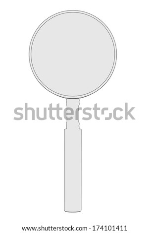 cartoon image of loupe tool