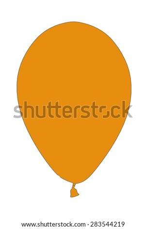 cartoon image of party decoration - stock photo