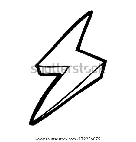 Type Lightning Bolt Symbol Cartoon Lightning Bolt Symbol
