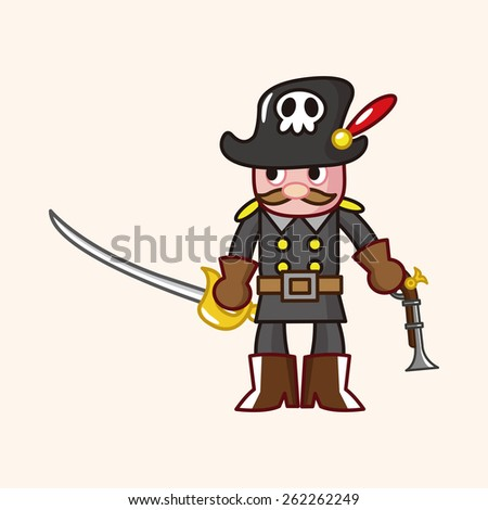 cartoon pirate