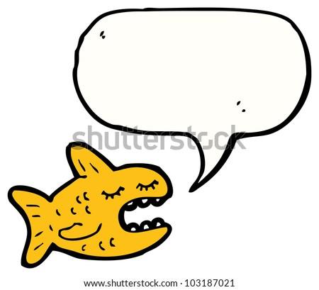 Create a talking cartoon fish
