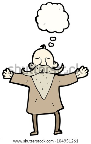Stock Images similar to ID 96181073 - old man cartoon