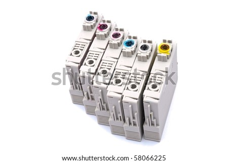 Cartridges empty - stock photo
