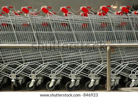 Carts - stock photo