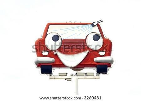 Carwash - stock photo