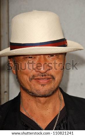 "Cary-Hiroyuki Tagawa at the Los Angeles premiere ""Balls Of Fury"". The Egyptian Theatre, Hollywood, CA. 08-25-07 - stock photo"