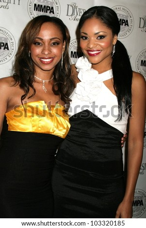 Caryn Ward and Erica Hubbard at the Multicultural Motion Picture Association's  17th Annual Diversity Awards, Beverly Hills Hotel, Beverly Hills, CA. 11-22-09
