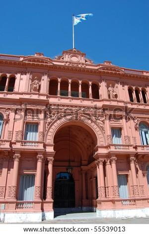 Casa Rosada - stock photo