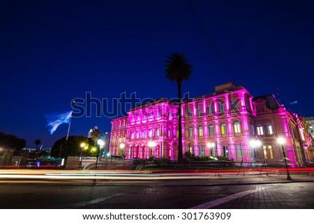 Casa Rosada, Buenos Aires - stock photo