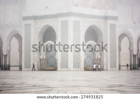 Casablanca Marocco - stock photo