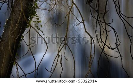 Cascade - stock photo