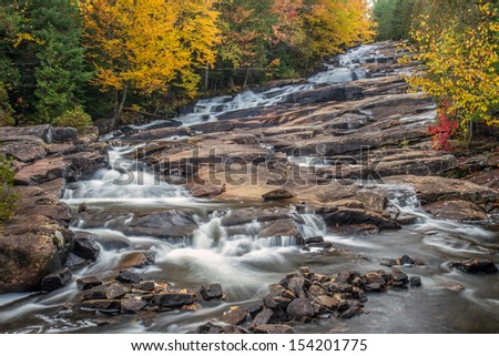 Cascades waterfall - stock photo