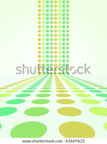 Cascading Circle Background - this is the jpg version.  A vector version is available in my portfolio. - stock photo