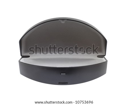 Case for sunglasses, isolated - stock photo