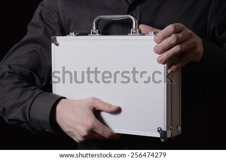 case in the hands