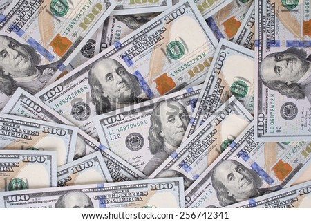 Cash dollar background for your use - stock photo