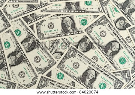 Cash dollar signs. Texture. - stock photo