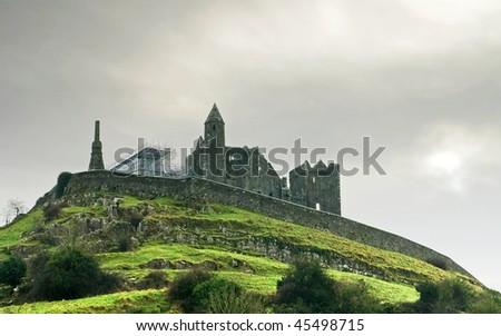 Cashel fortress - stock photo