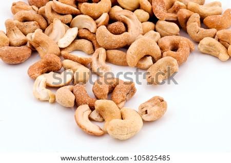 Cashew close up - stock photo