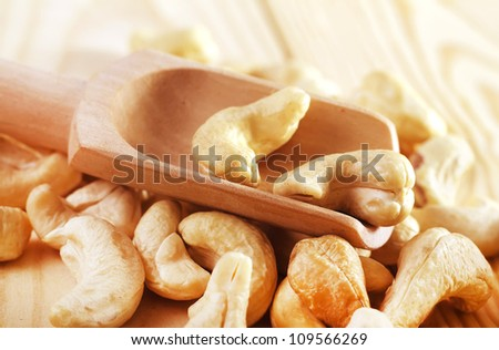 cashews - stock photo