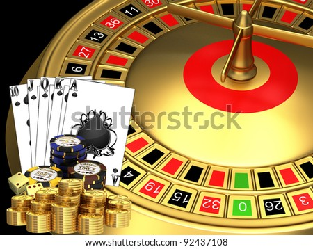 Casino - stock photo
